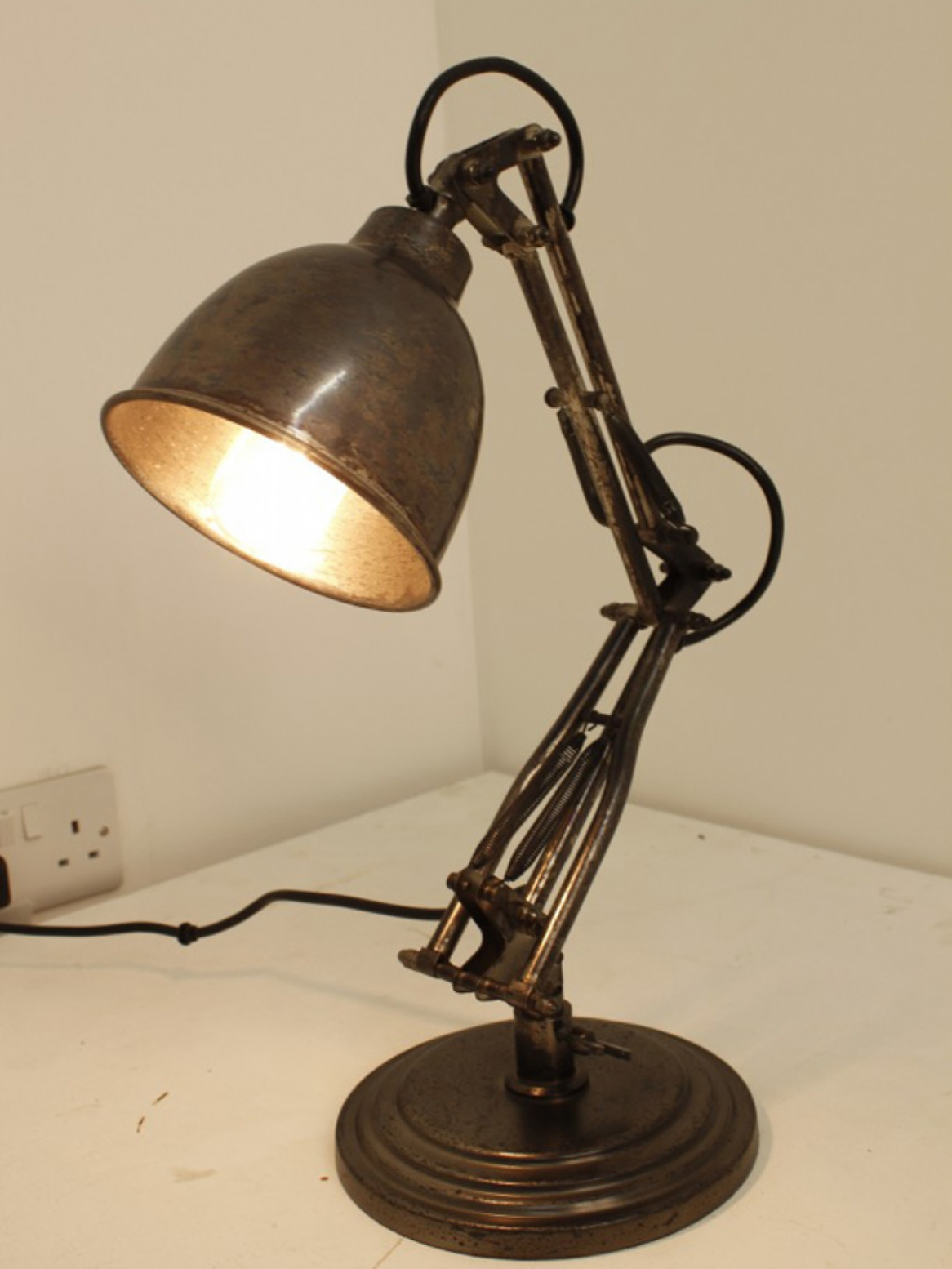 Best ideas about Industrial Desk Lamp . Save or Pin Industrial table lamp Now.