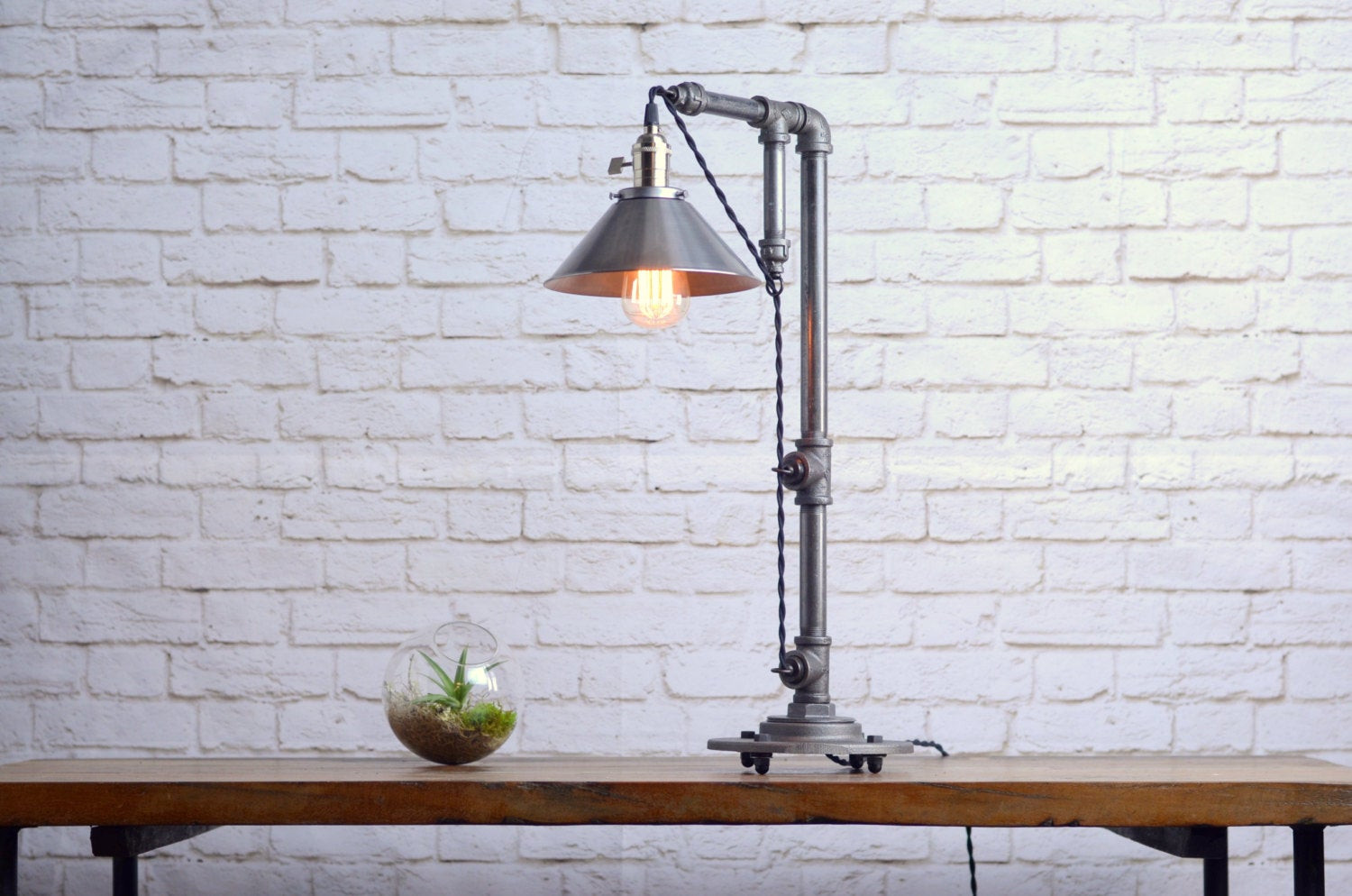 Best ideas about Industrial Desk Lamp . Save or Pin Industrial Table Lamp Table Lamps Industrial Style Lamp Now.