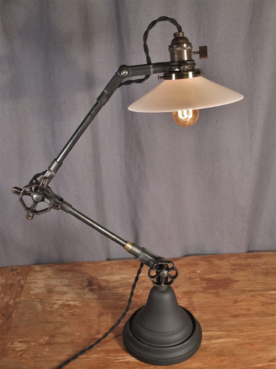 Best ideas about Industrial Desk Lamp . Save or Pin Vintage Industrial Style Desk Lamp on Storenvy Now.
