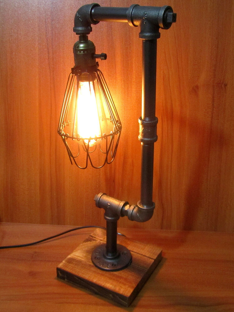 Best ideas about Industrial Desk Lamp . Save or Pin Vintage Industrial Retro Adjustable Iron Pipe Desk Table Now.