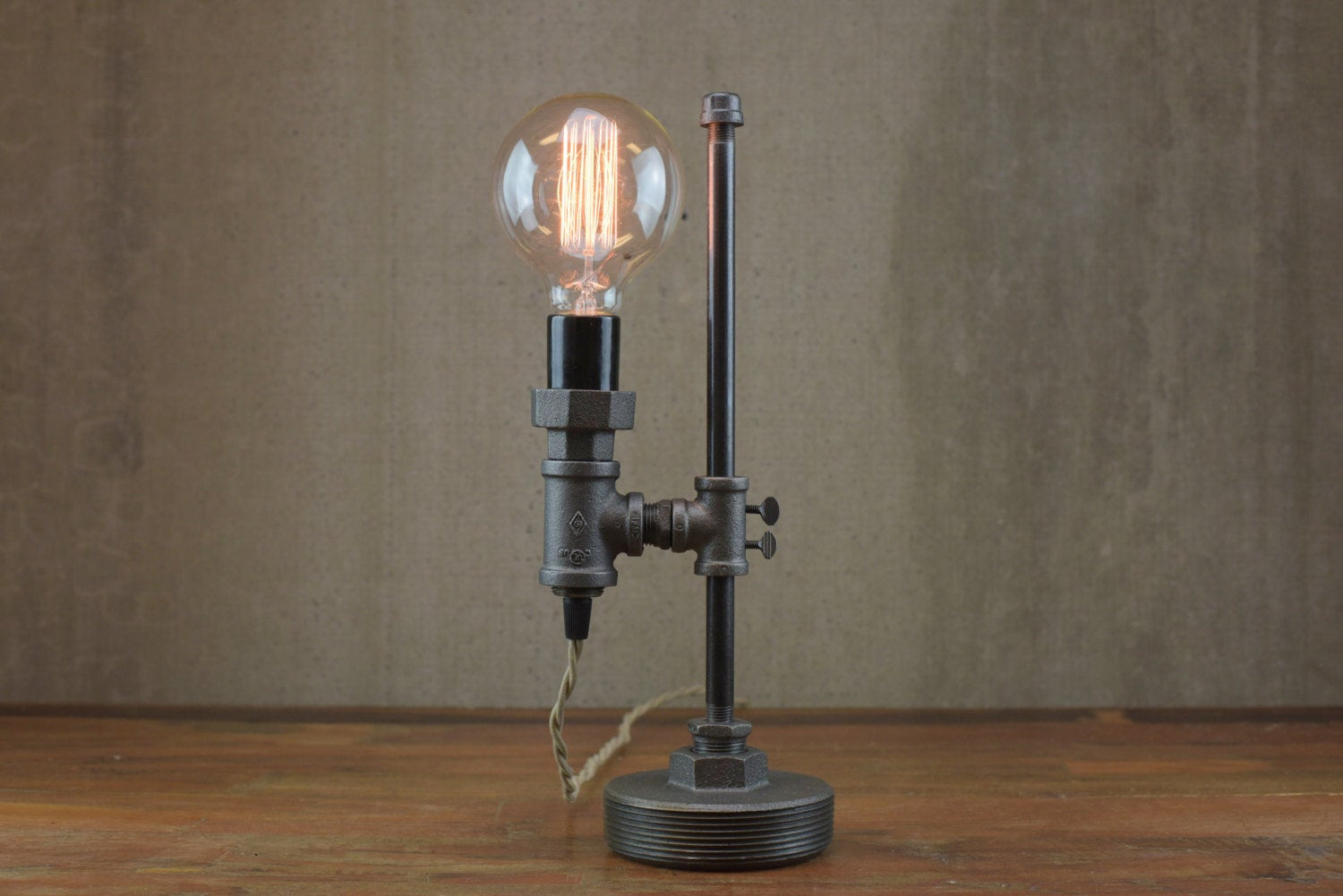 Best ideas about Industrial Desk Lamp . Save or Pin Minimalist Lamp Industrial Desk Lamp Edison Bulb Light Now.