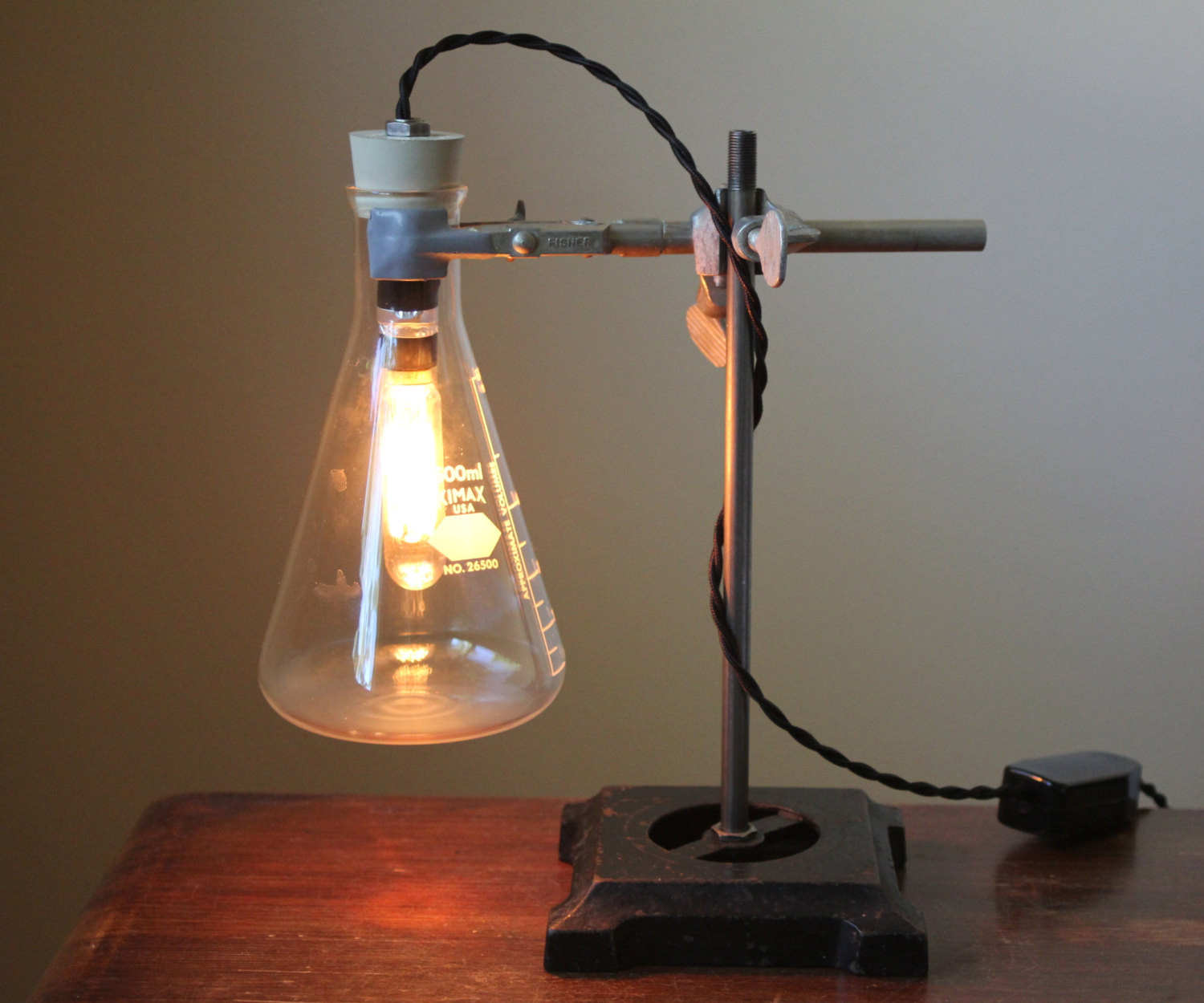 Best ideas about Industrial Desk Lamp . Save or Pin Industrial desk lamp Science lamp steampunk table lamp cool Now.