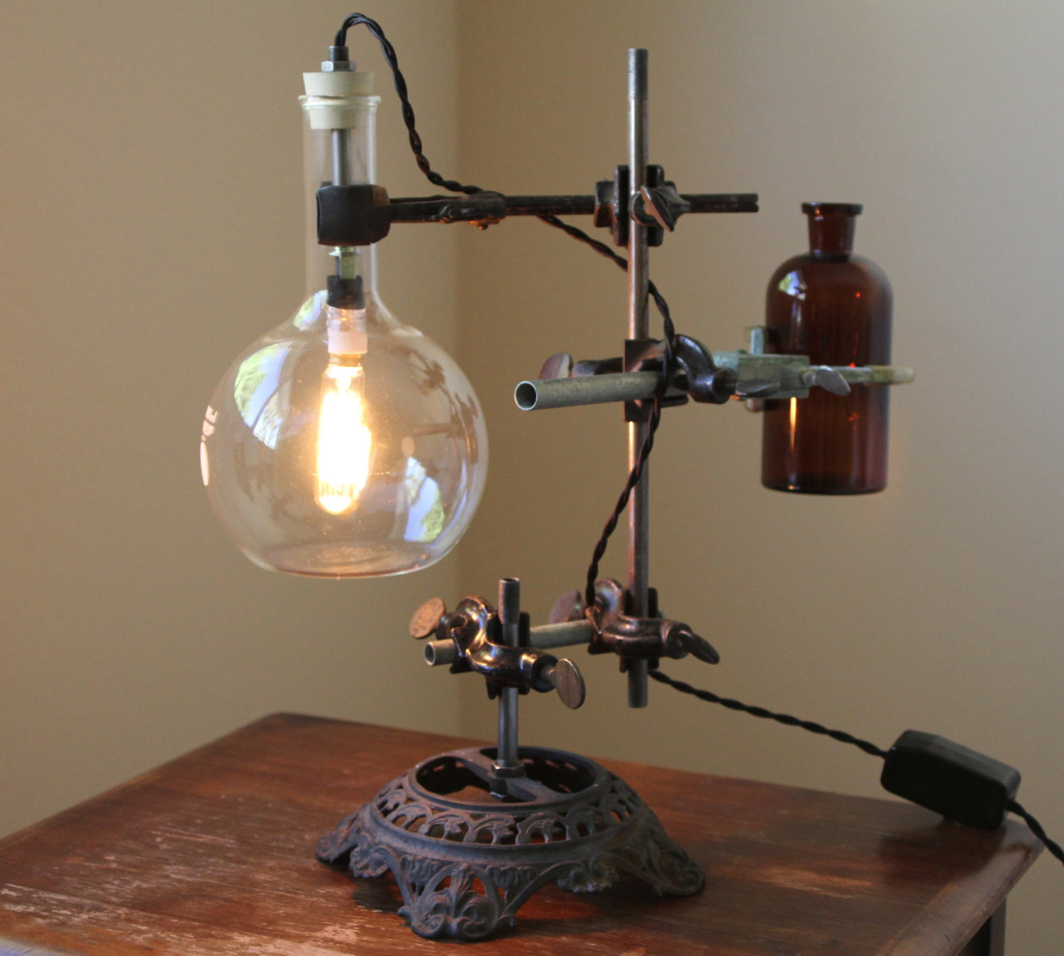 Best ideas about Industrial Desk Lamp . Save or Pin Industrial desk lamp steampunk lamp industrial lamp Now.