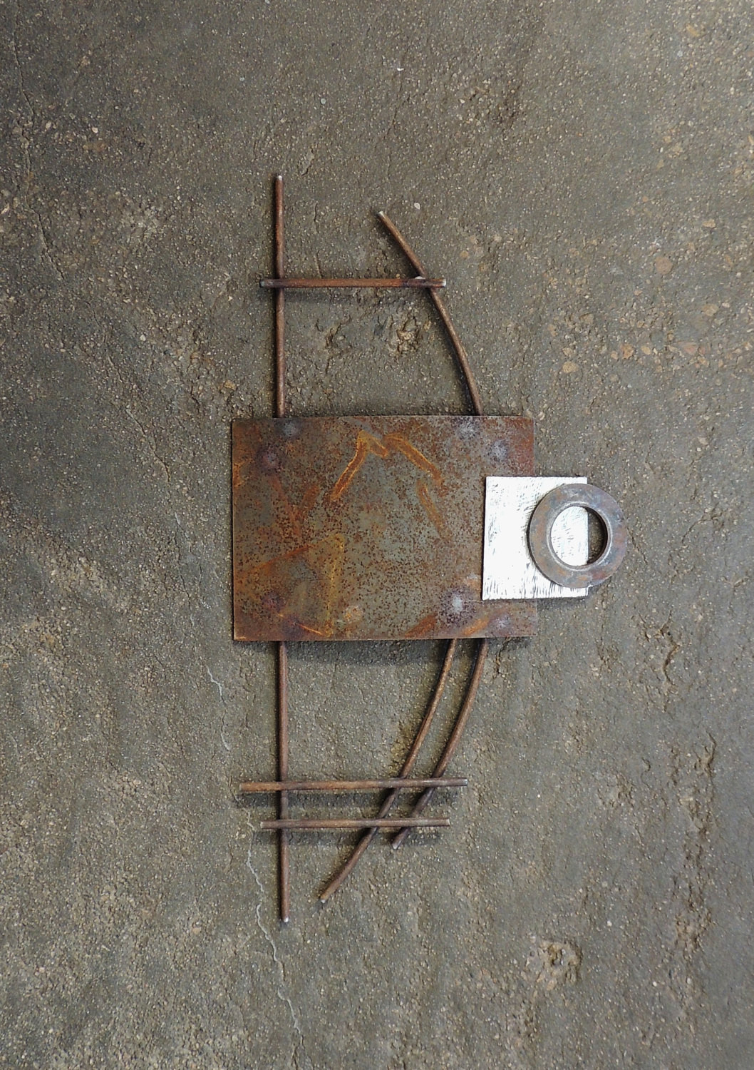 Best ideas about Industrial Wall Art . Save or Pin Industrial Wall Sculpture Modern Steel Wall Art Metal Wall Now.