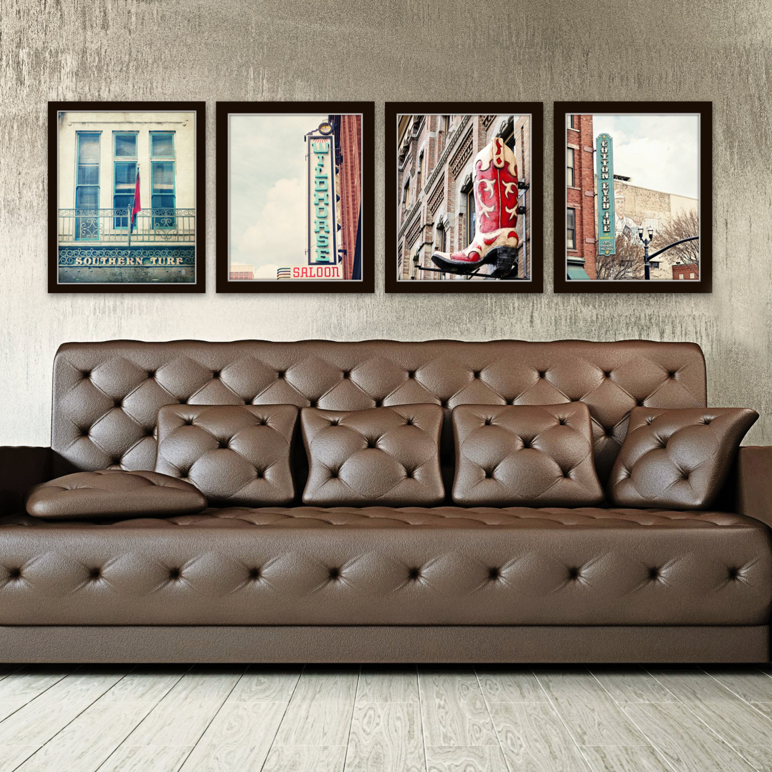 Best ideas about Industrial Wall Art . Save or Pin Nashville wall art industrial decor city photography set of 4 Now.