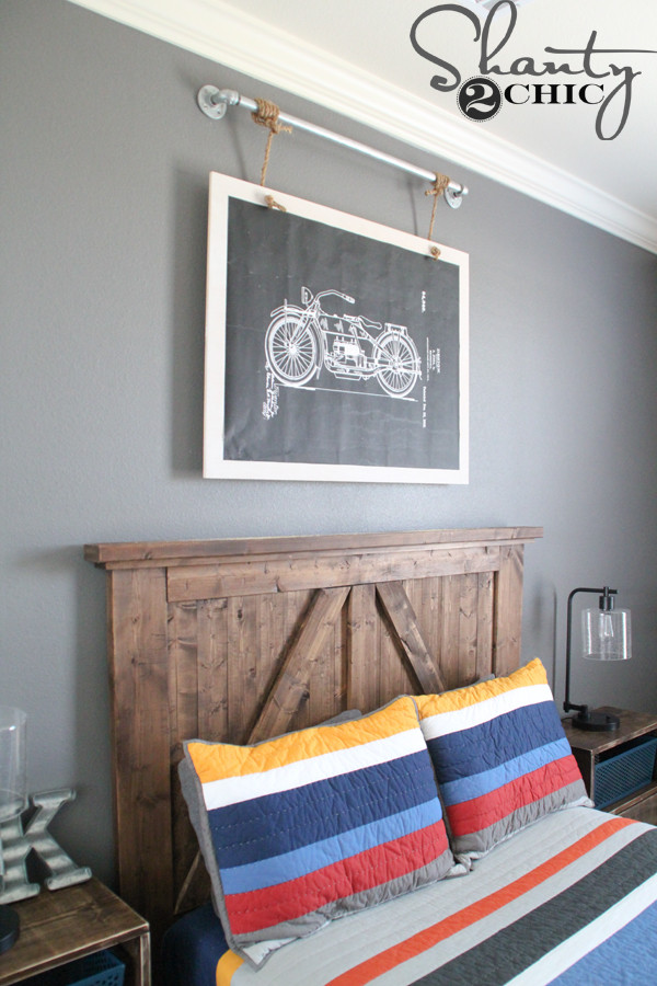Best ideas about Industrial Wall Art . Save or Pin DIY Industrial Wall Art with Free Printable Shanty 2 Chic Now.