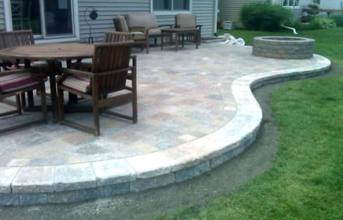 Best ideas about Inexpensive Patio Pavers . Save or Pin Tiered Ve able Garden Raised Materials Outdoor Patio Now.