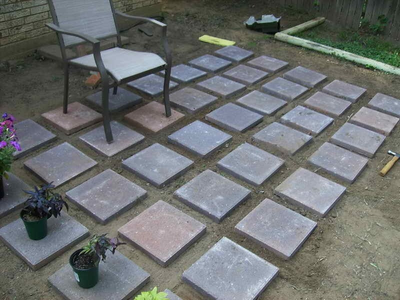 Best ideas about Inexpensive Patio Pavers . Save or Pin Inexpensive Pavers For Patio Now.