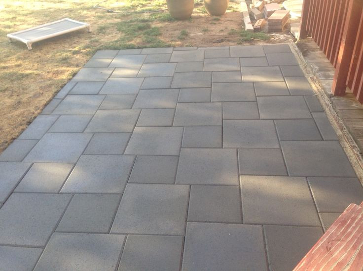Best ideas about Inexpensive Patio Pavers . Save or Pin Best 25 Concrete pavers ideas on Pinterest Now.