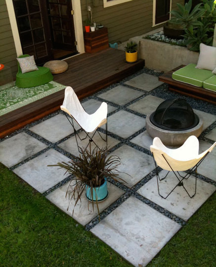 Best ideas about Inexpensive Patio Pavers . Save or Pin Patio Inspiration Now.