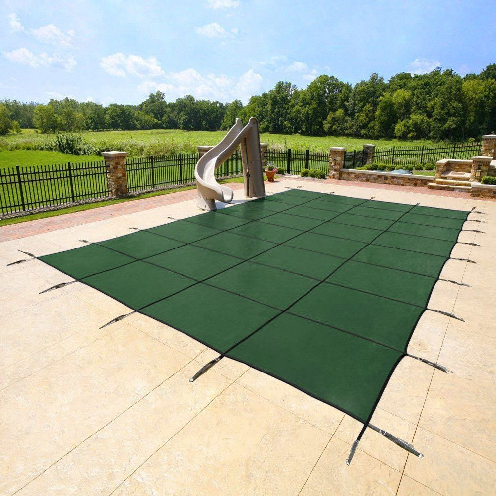 Best ideas about Inground Pool Cover . Save or Pin Yard Guard Deck Lock Rectangle Mesh 18 x36 Inground Now.