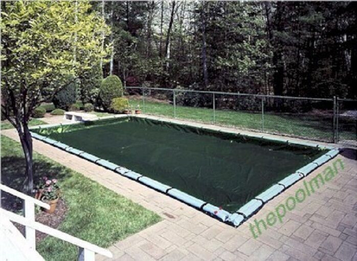Best ideas about Inground Pool Cover . Save or Pin INGROUND WINTER SWIMMING POOL COVER WITH WATERTUBES Now.