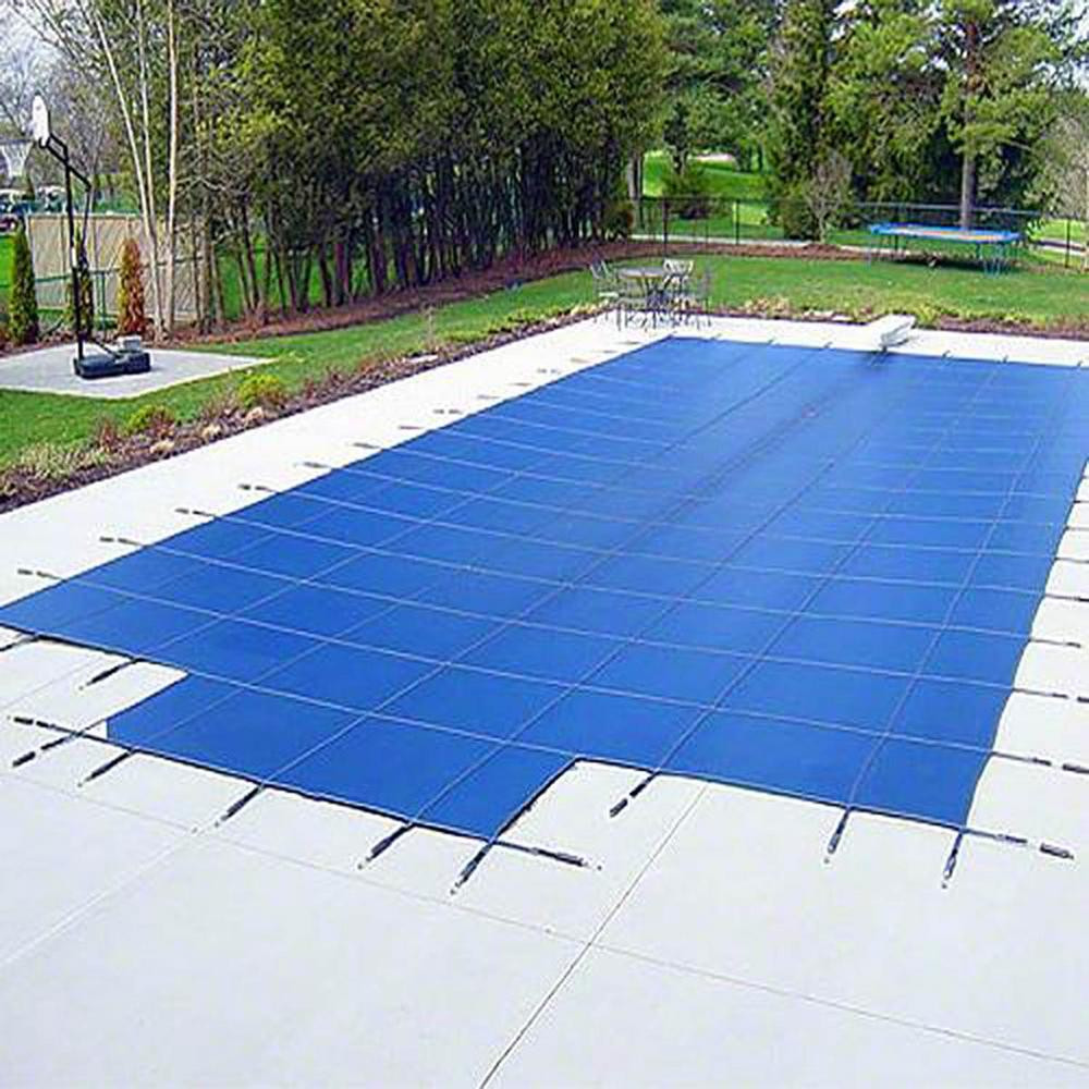 Best ideas about Inground Pool Cover . Save or Pin Yard Guard 22 ft x 42 ft Rectangular Blue Deck Lock In Now.