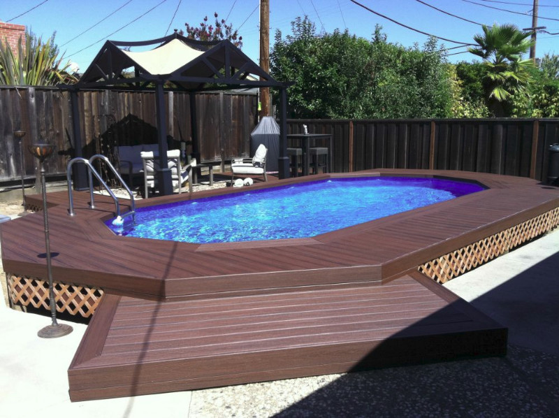 Best ideas about Inground Pool Deck . Save or Pin Inground Pools – The Poolyard Now.