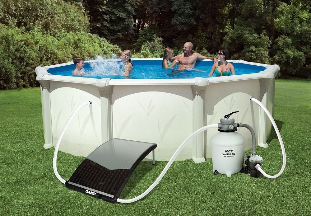 Best ideas about Inground Pool Heater . Save or Pin SolarPRO Curve Solar Pool Water Heater for InGround Now.