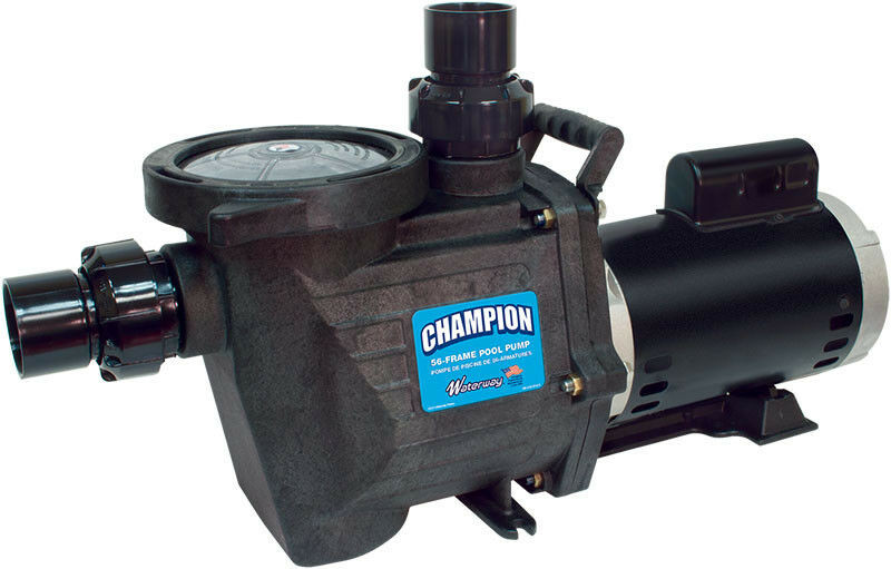 Best ideas about Inground Pool Pumps . Save or Pin WATERWAY CHAMPION 1 5 HP INGROUND SWIMMING POOL PUMP Now.