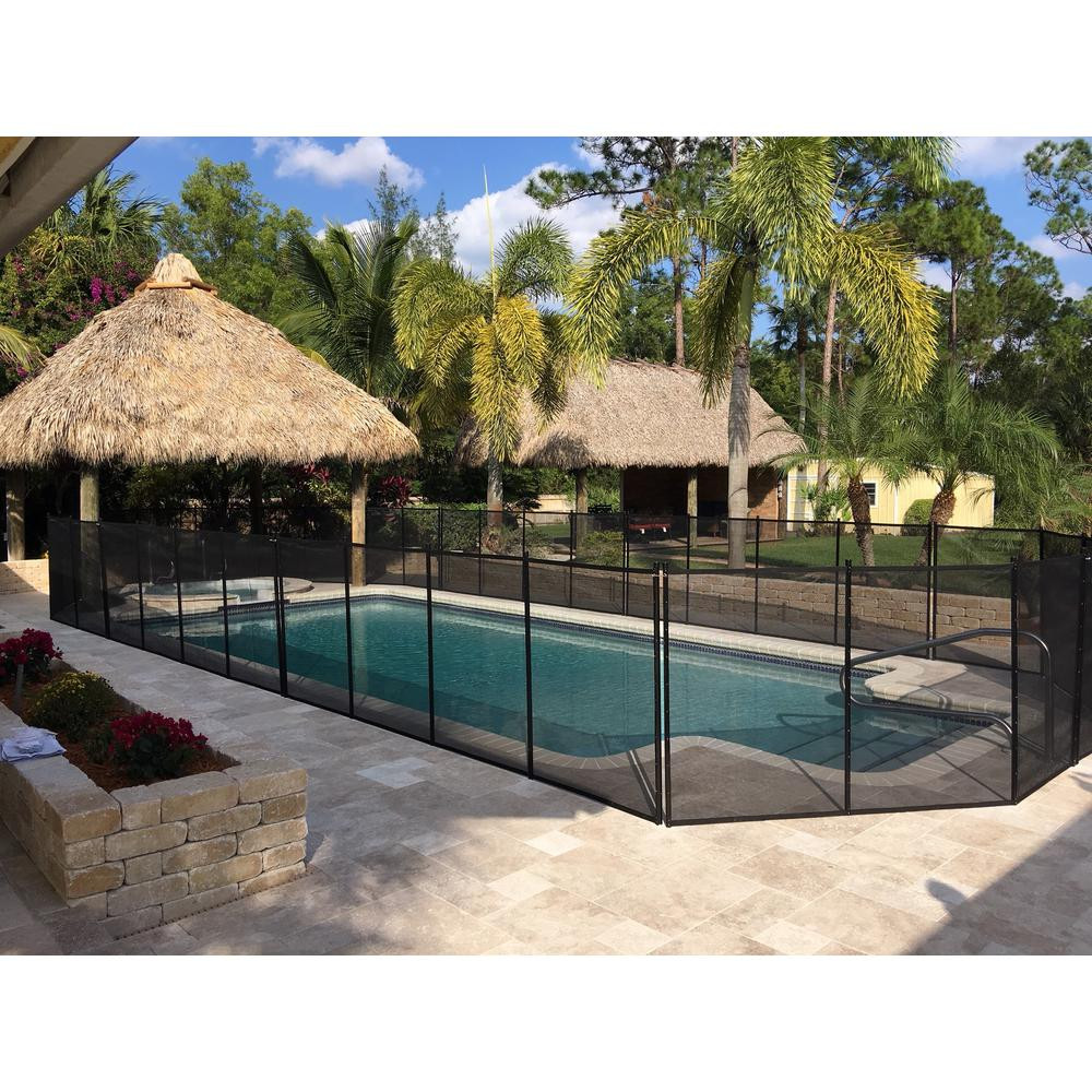 Best ideas about Inground Pool Safety Fence . Save or Pin Water Warden In Ground Pool Safety Fence WWF200 The Home Now.