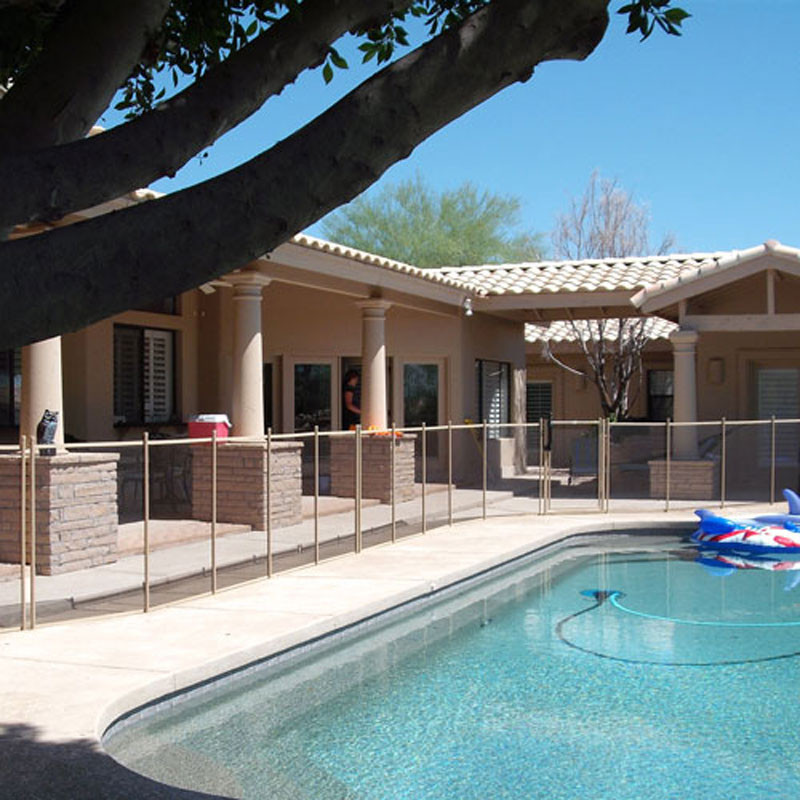 Best ideas about Inground Pool Safety Fence . Save or Pin 4 x 15 GLI Mesh Safety Fence Section For Inground Now.