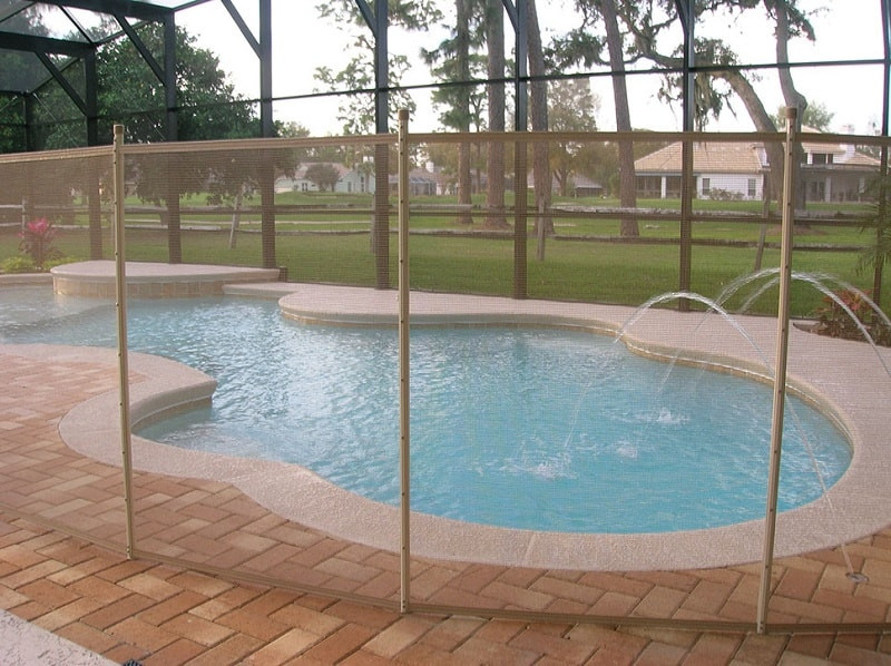 Best ideas about Inground Pool Safety Fence . Save or Pin Best Pet & Child Pool Safety Fences in Houston TX Now.