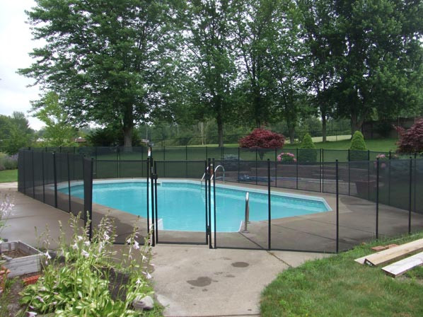 Best ideas about Inground Pool Safety Fence . Save or Pin Inground Pool Safety Fences Now.