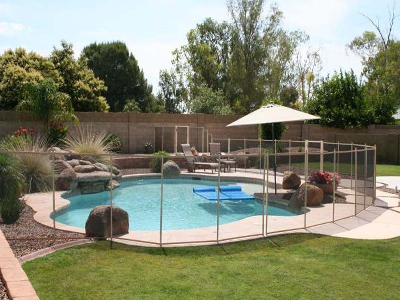 Best ideas about Inground Pool Safety Fence . Save or Pin Inground Pool Prices Now.