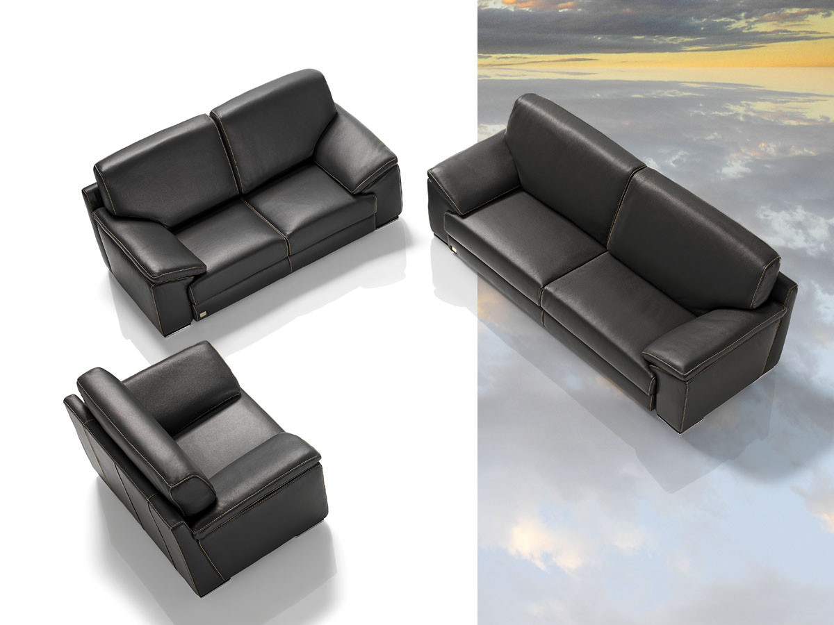 Best ideas about Italian Sofa Set . Save or Pin Tonga Modern Italian Full Leather Sofa Set Now.