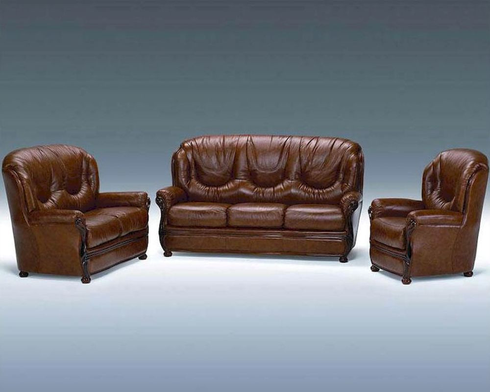 Best ideas about Italian Sofa Set . Save or Pin Classic Italian Leather Sofa Set 44LDLS Now.