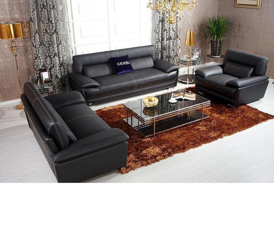 Best ideas about Italian Sofa Set . Save or Pin DreamFurniture K8432 Black Italian Leather Sofa Set Now.