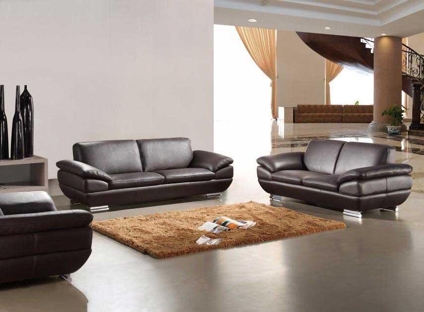 Best ideas about Italian Sofa Set . Save or Pin Italian Leather sofa set in Espresso Finish Now.