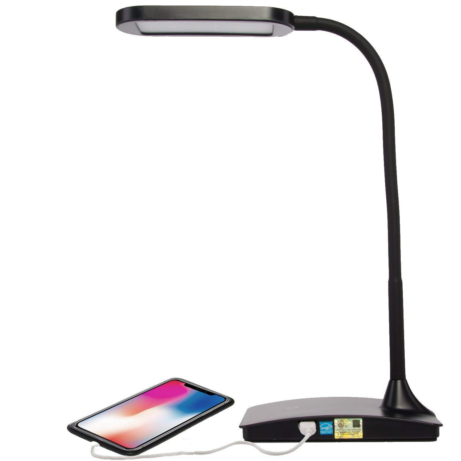 Best ideas about Ivy Led Usb Desk Lamp . Save or Pin TW Lighting IVY 40BK The IVY LED Desk Lamp with USB Port Now.