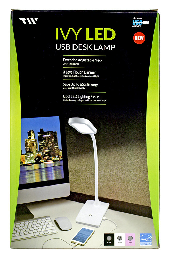 Best ideas about Ivy Led Usb Desk Lamp . Save or Pin IVY LED USB Desk Lamp Pink Now.