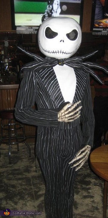 Best ideas about Jack Skellington DIY Costume . Save or Pin DIY Jack Skellington Adult Costume Now.