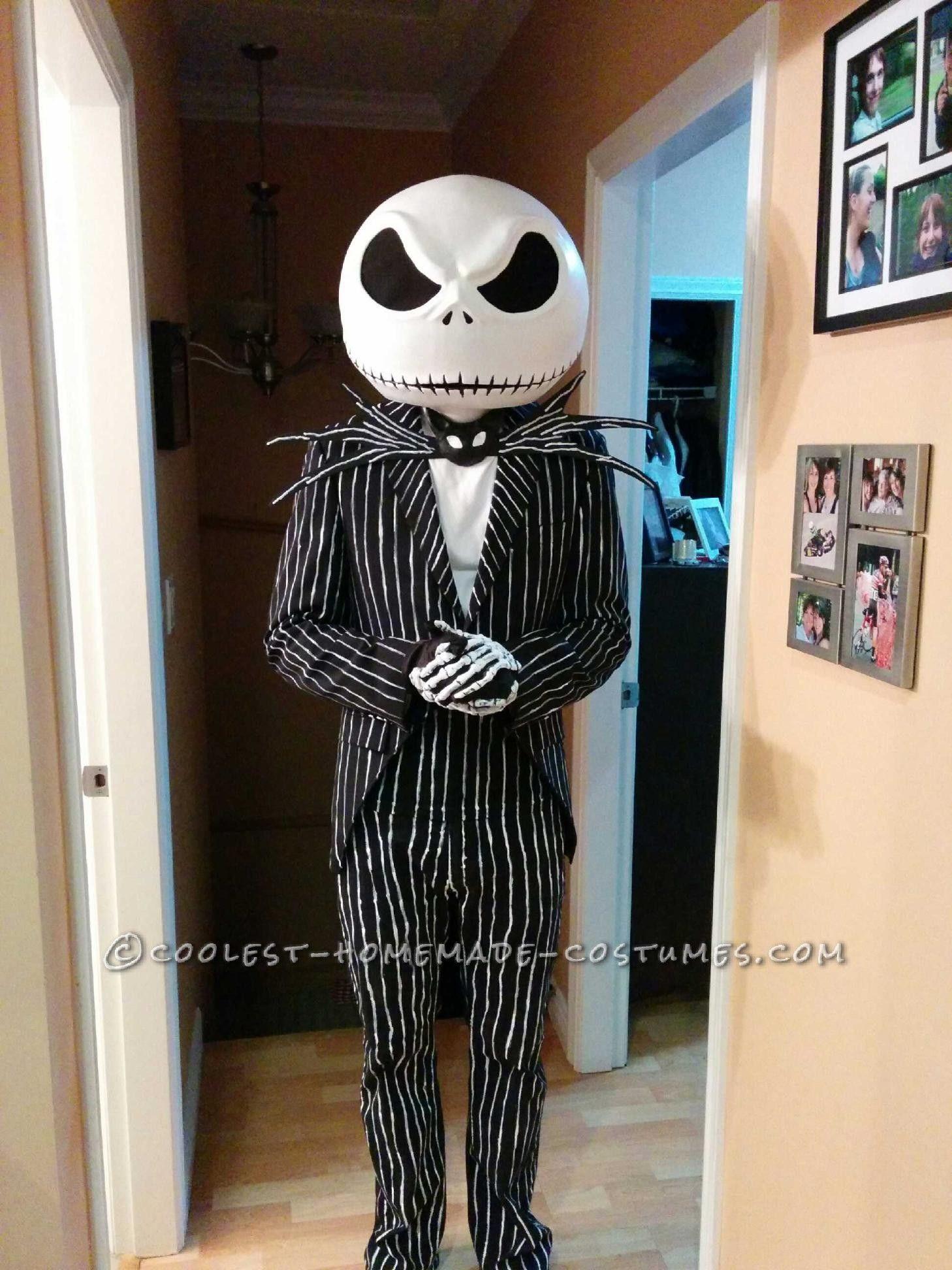 Best ideas about Jack Skellington DIY Costume . Save or Pin Amazing Jack Skellington Nightmare Before Christmas Now.