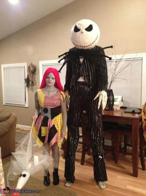 Best ideas about Jack Skellington DIY Costume . Save or Pin Jack and Sally Skellington Costume Now.