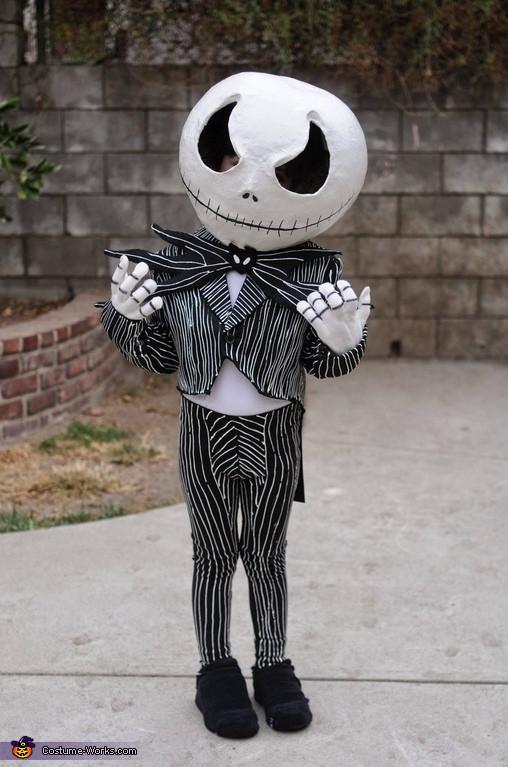 Best ideas about Jack Skellington DIY Costume . Save or Pin DIY Jack Skellington Costume for Boys Now.