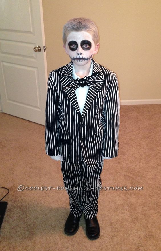 Best ideas about Jack Skellington DIY Costume . Save or Pin Cool Homemade Jack Skellington Costume from Nightmare Now.