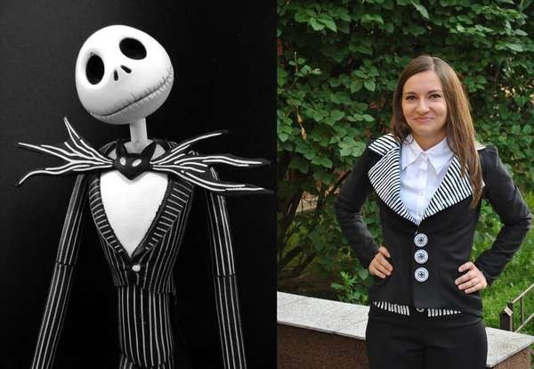 Best ideas about Jack Skellington DIY Costume . Save or Pin DIY Spooky Musical Garments Halloween Costume Now.