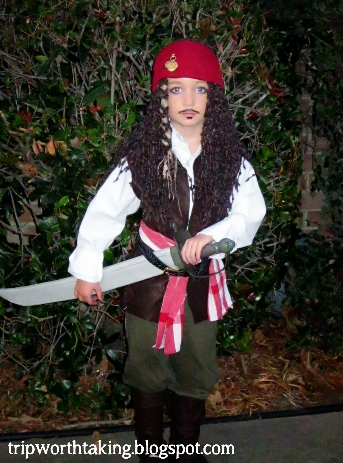 Best ideas about Jack Sparrow Costume DIY . Save or Pin Life Is A Trip Worth Taking DIY Halloween Costumes for Boys Now.