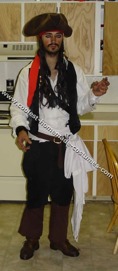 Best ideas about Jack Sparrow Costume DIY . Save or Pin 17 Best images about Adult Pirate Costume Ideas on Now.