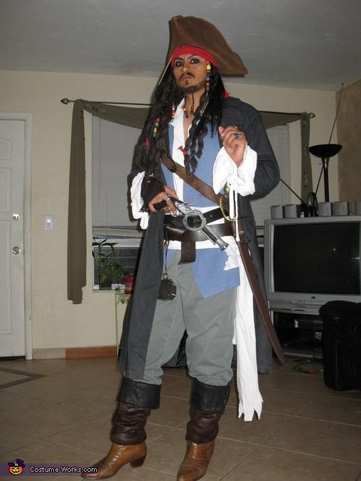 Best ideas about Jack Sparrow Costume DIY . Save or Pin Captain Jack Sparrow Costume Now.