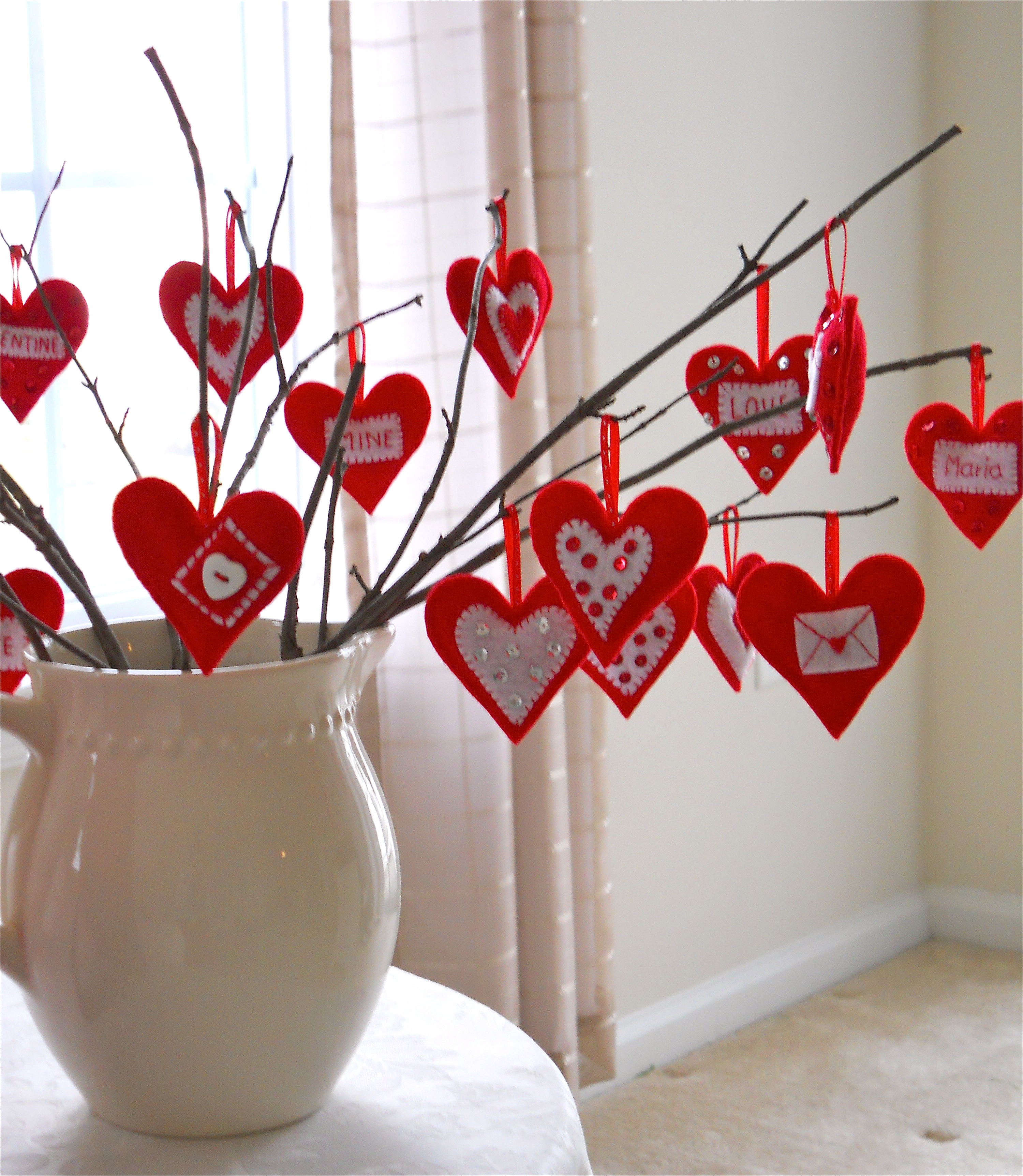 Best ideas about January Crafts For Adults . Save or Pin Valentine s Day Love Tree Now.