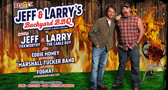 Best ideas about Jeff And Larry'S Backyard Bbq . Save or Pin Ed Money Foghat part of edy music festival Now.
