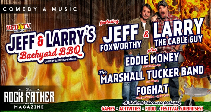 Best ideas about Jeff And Larry'S Backyard Bbq . Save or Pin Jeff Foxworthy & Larry the Cable Guy are throwing a Now.
