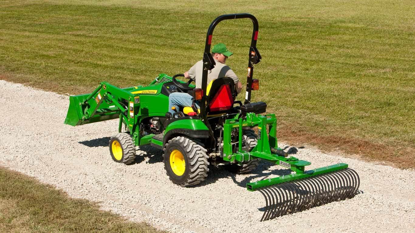 Best ideas about John Deere Landscape Supplies . Save or Pin LR50L Series Landscape Rakes New Landscape Equipment Now.