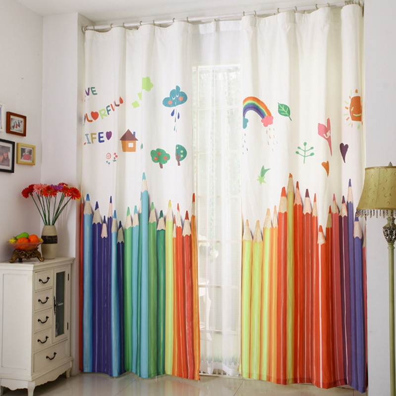 Best ideas about Kid Bedroom Curtain . Save or Pin Aliexpress Buy 2017 New window curtains for living Now.