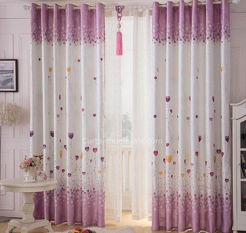 Best ideas about Kid Bedroom Curtain . Save or Pin Eco friendly Purple and White Linen Cotton Kids Bedroom Now.