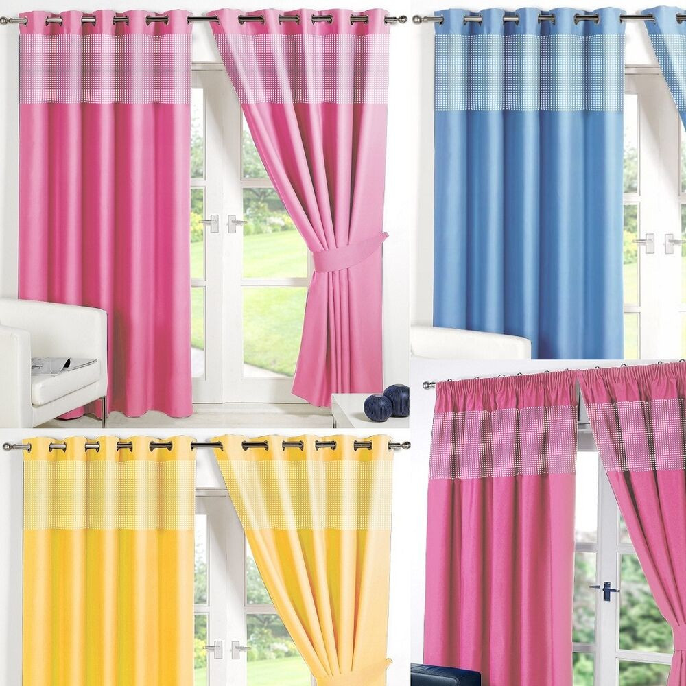 Best ideas about Kid Bedroom Curtain . Save or Pin GINGHAM KIDS BEDROOM CURTAINS Thermal Blackout Curtain Now.
