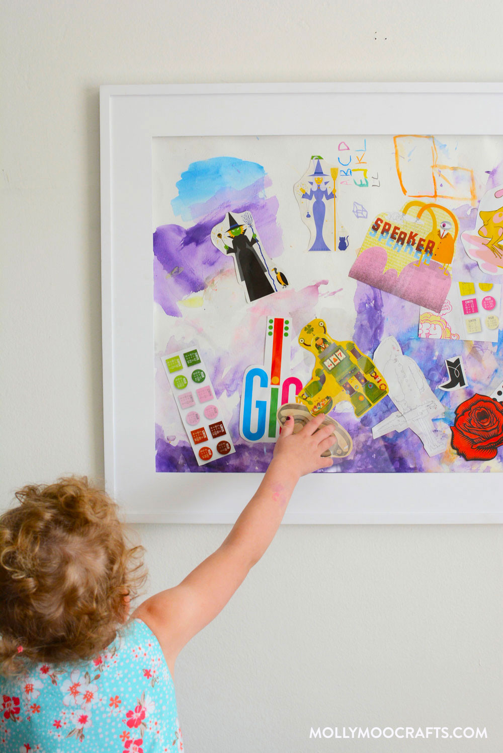 Best ideas about Kids Art Projects . Save or Pin MollyMooCrafts Fun Art Project For Kids Mixed Media Collage Now.