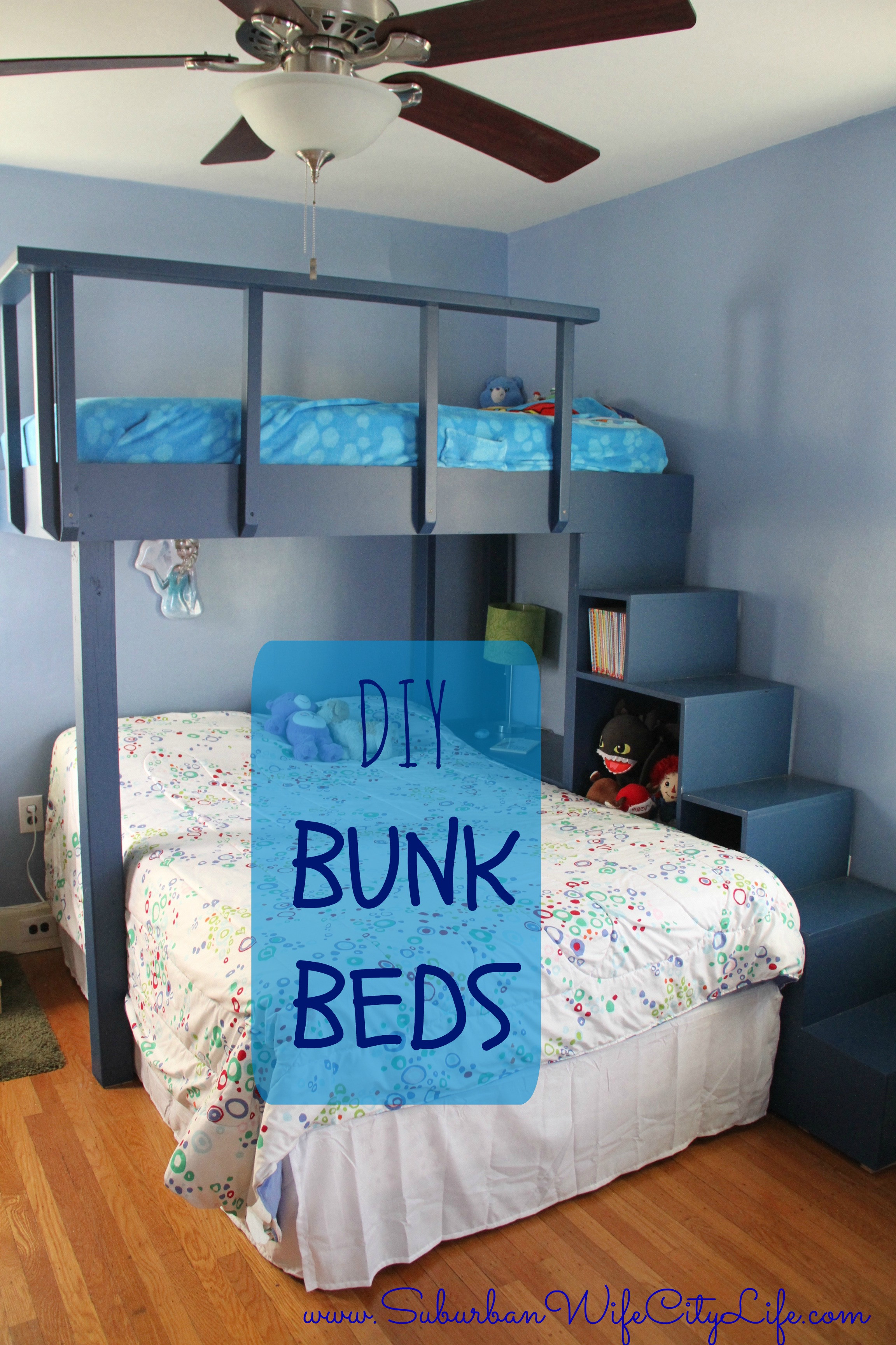Best ideas about Kids Bed DIY . Save or Pin DIY Bunk Beds Suburban Wife City Life Now.