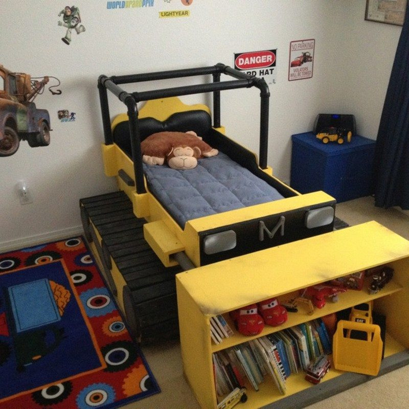 Best ideas about Kids Bed DIY . Save or Pin DIY Dump Truck Bed Now.